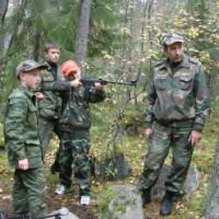 Первый поход кадетов, сентябрь 2010г. озеро Нахимовское