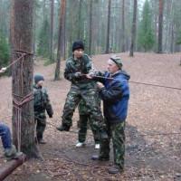 Поход октябрь 2010 23-24 октября Лемболово